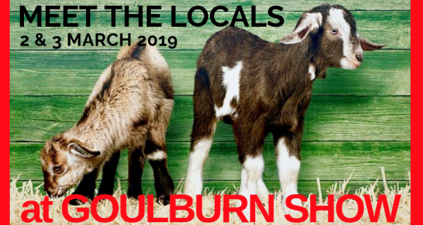 Goulburn Show 2019 Meet the Locals